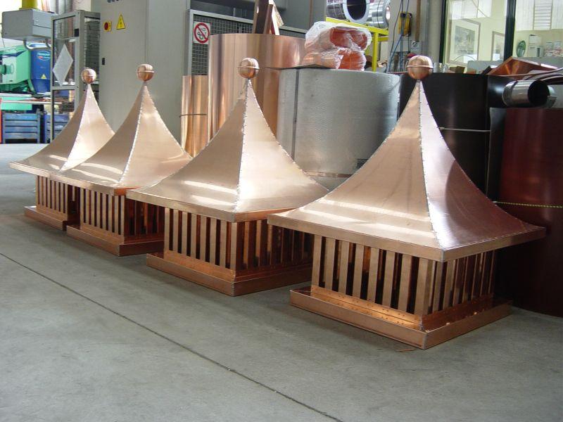Bba srl coperture e lattoneria realizzazione di camini for Linee d acqua pex vs rame