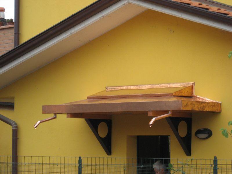 Bba srl coperture e lattoneria tettini copriporta for Linee d acqua pex vs rame